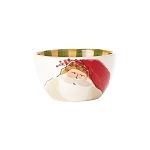Vietri Old St. Nick Cereal Bowls - Animal Hat