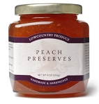 Peach Preserves - Lowcountry Produce
