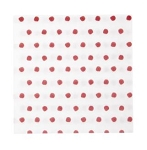 Vietri Papersoft Napkins Red Dot Dinner Napkins (Pack of 20)