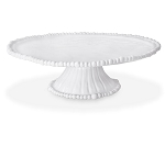 Beatriz Ball Vida Alegria Pedestal Cake Plate/Chip & Dip Server