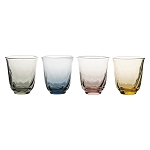 Juliska Vienne Assorted Color Tumbler Set of 4 - Small