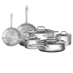 Bialetti Triply 10 Piece Cookware Set