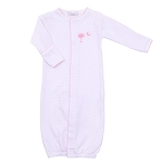 Magnolia Baby Palmetto Baby Embroidered Converter Pink
