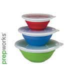 Thinstore™ Collapsible Storage Bowl Set