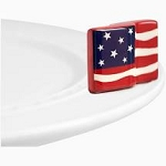 Nora Fleming American Flag Mini