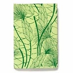 Arcadia Recycle cotton Journal in Green Beach Grass