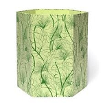 Arcadia Home Recycled Cotton Storage Basket in Green Beach Grass
