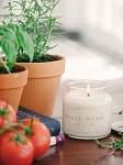 Charleston Candle Co. - Basil + Herb 16 oz Soy Candle