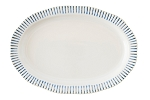 Juliska Sitio Indigo Stripe Serving Platter