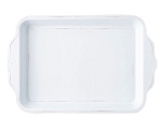 Juliska Berry & Thread Melamine Whitewash Handled Tray