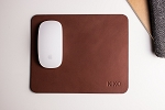 Brown Leather Mouse Pad - Kiko Leather