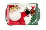 Vietri Old St. Nick 2020 Limited Edition Small Rectangular Plate