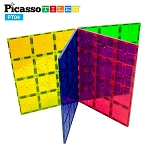 Picasso Tiles - 4 Piece Magnet Tiles Set