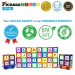 Picasso Tiles - 136 Piece Deluxe Combo Extension