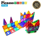 Picasso Tiles - 180 Piece Deluxe Combo Toy Set