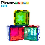 Picasso Tiles - 22 Piece Magnetic Tiles Numerical Set