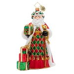 Christopher Radko - Holiday Harlequin Santa