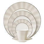 Nikko Silk Platinum 5 piece place setting
