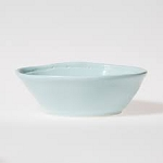viva fresh aqua small oval bowl