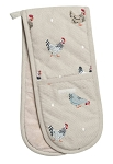 Sophie Allport Double Oven Glove - Lay a Little Egg